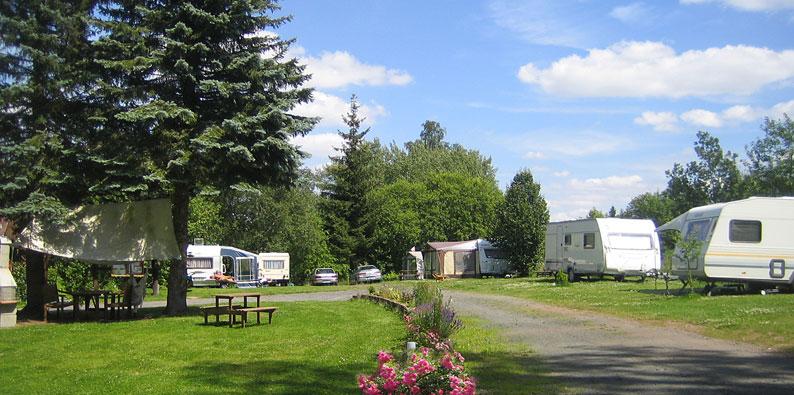 Camping Thüringen - Rennsteig-Caravaning Valentinsteich