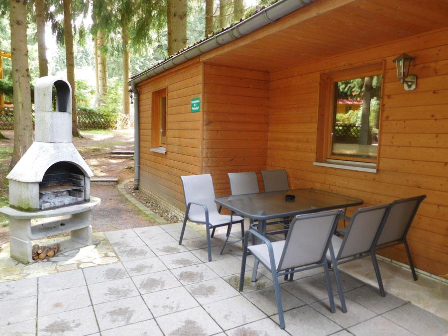 Ferienbungalow im Thüringer Wald