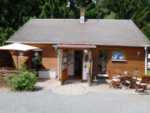 Camping Thüringen - Rezeptionsgebäude