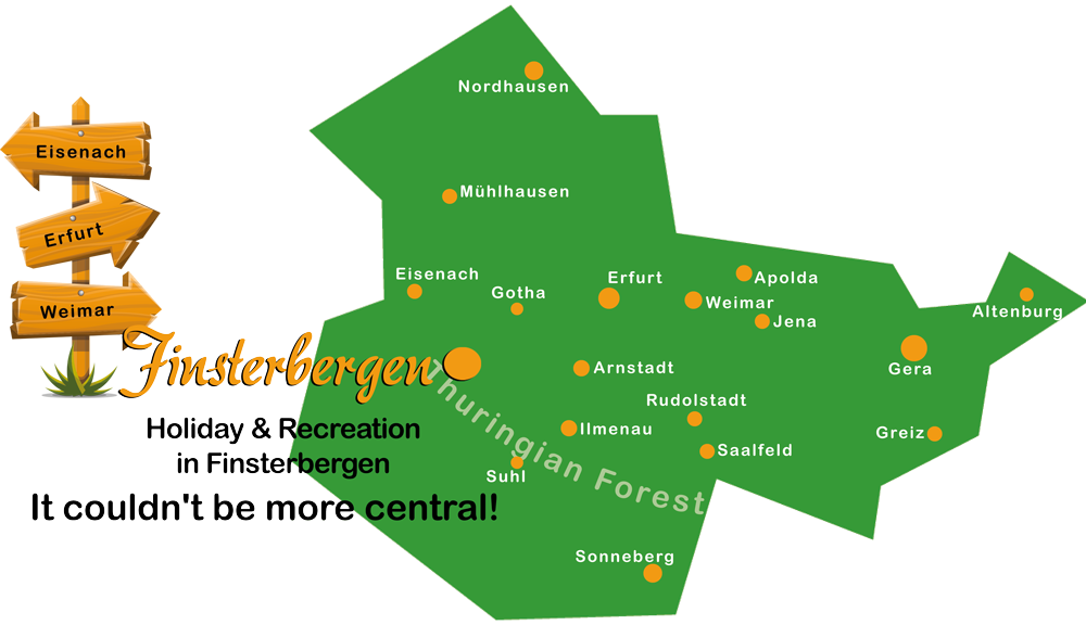 Campingurlaub im Thüringer Wald